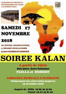 Affiche soirée Kalan2018 jpeg